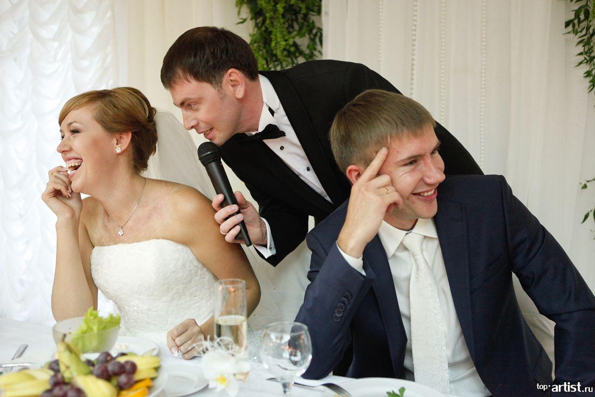 Что говорить ведущему на свадьбе