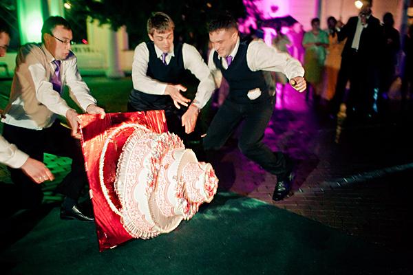 Конкурс с машинками на свадьбу
