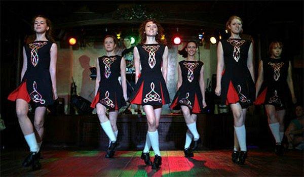 стриптиз ирландские танцы